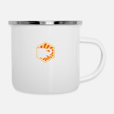 Safari Zoo Elephant | Majestic Animal Wilderness - Enamel Mug