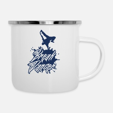 Breakdance Breakdance breakdance breakdance breakdance danse - Mug émaillé