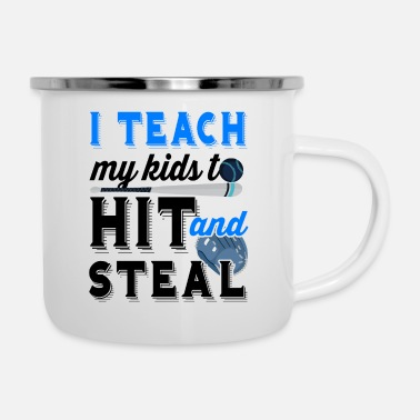 Steal Hit and steal - Enamel Mug