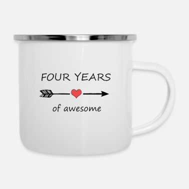 4th Birthday 4th birthday - Enamel Mug