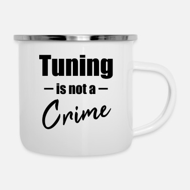Tuning Tuning is geen misdaad - Emaille mok