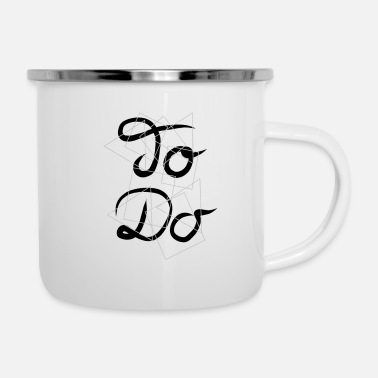 To do - Enamel Mug