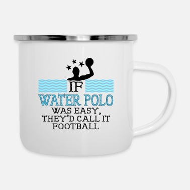 Water Sports Water Sports Water Polo Man - Enamel Mug