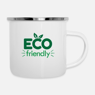 Eco Eco friendly eco - Enamel Mug