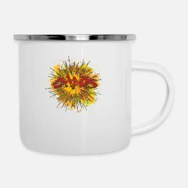 Chaos Chaos - Emaille-Tasse