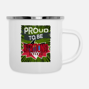 To be a proud nutritional citizen - Enamel Mug