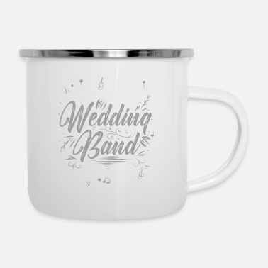 Band Band wedding - Enamel Mug