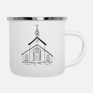 Church Church - Enamel Mug