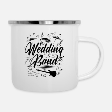 Creative Band wedding - Enamel Mug
