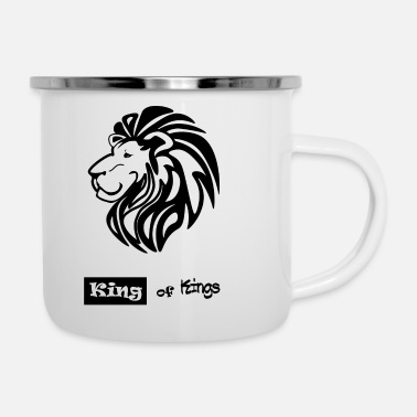King King of Kings - Enamel Mug
