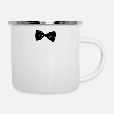 Bow tie suit Tuxedo bachelor party funny - Enamel Mug