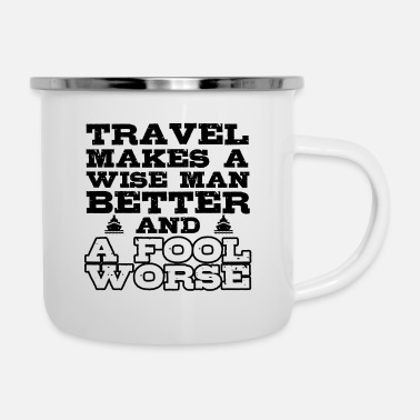 Africa Travel - Enamel Mug