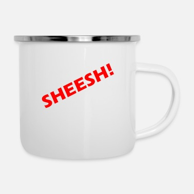 Speech Balloon sheesh - Enamel Mug