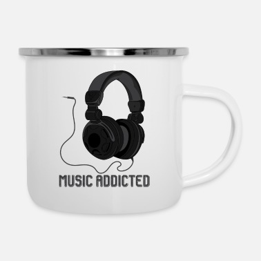 Soul Music Addicted - Enamel Mug