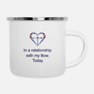 Raider Archery Sagittarius Love Saying Funny Gift - Enamel Mug