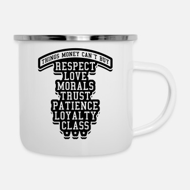 Free money_cant_buy_love_loyalty_ju1 - Emaille-Tasse