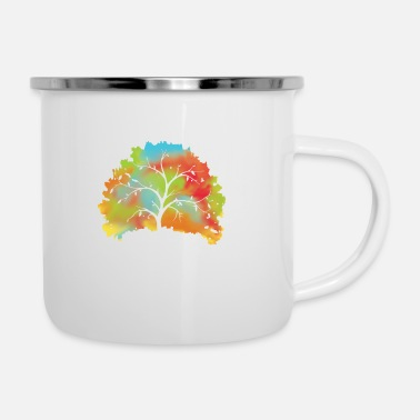 Global nature save the world save earth protect - Enamel Mug