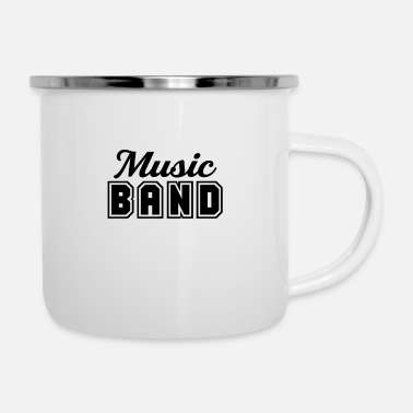 Band Band - Emaille-Tasse