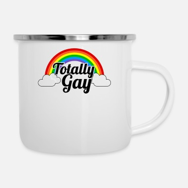 Gay Pulse Totalmente gay - Tazza smaltata