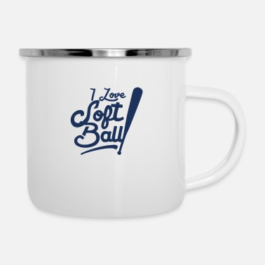 Softball Player Softball player - Enamel Mug