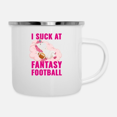 Seizoen I Suck At Fantasy Football, Unicorn Fantasy - Emaille mok