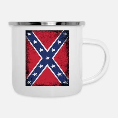 Südstaaten Confederate States of America Flag Südstaaten - Emaille-Tasse