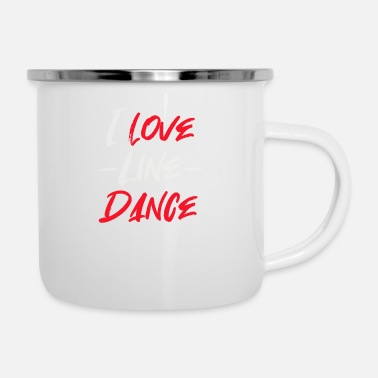 Countrymusic LOVE LINE DANCE - Enamel Mug
