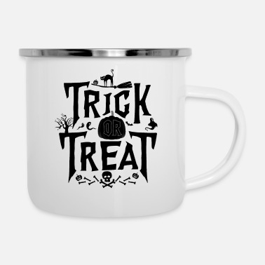 Trick Or Treat Trick Or Treat - Emaljmugg