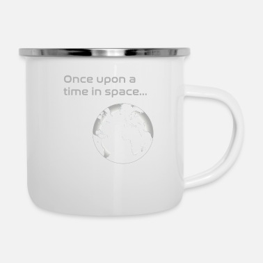 Geometry Once upon a time in space - Enamel Mug