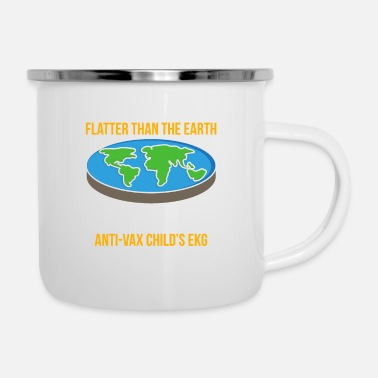 Flutter Flutter Than Earth Vax Childs ECG Vaccination - Enamel Mug