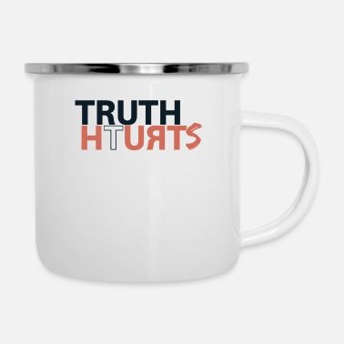 Truth truth - Enamel Mug