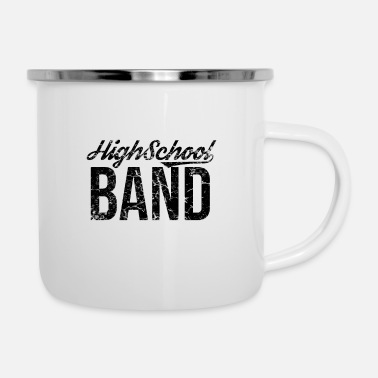 Band School band marching band musician band music band - Enamel Mug