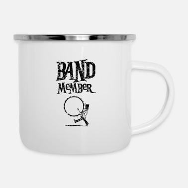 Band School band music band marching band band musicians - Enamel Mug
