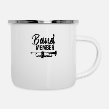 Band Music band band musician school band marching band - Enamel Mug