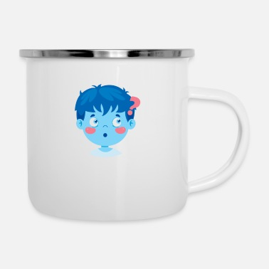 Kindheit ZOMBIE - Emaille-Tasse