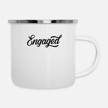 Engagement Marriage proposal engagement engagement engagement proposal engagement - Enamel Mug