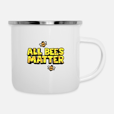 Creature All bees are important - Enamel Mug