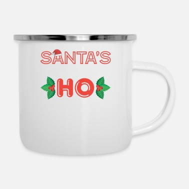 Nicholas Santa's Favorite Ho / For Christmas and December - Enamel Mug