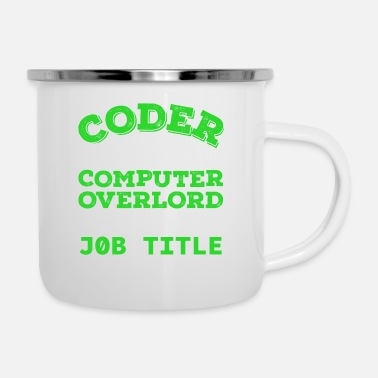 Web Sayings of a real computer nerd - coder - Enamel Mug