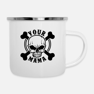 Heavy Your mama - Mug émaillé