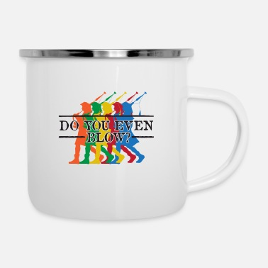 Instrument Wind instruments - Enamel Mug
