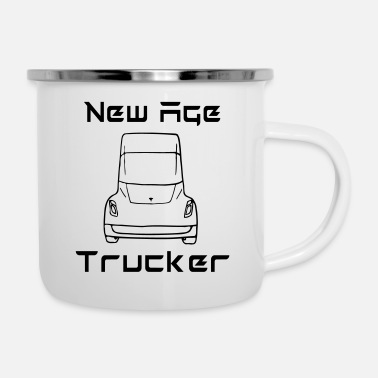 New Age New Age Trucker - Emaille mok
