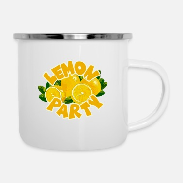 Party Lemon Party - Lemon Party - Emaille mok
