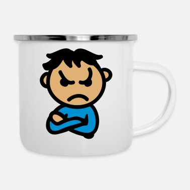 Bad Mood bad mood 3 - Enamel Mug