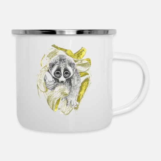 Collection Mugs & Drinkware - Lori in full throttle - Enamel Mug white