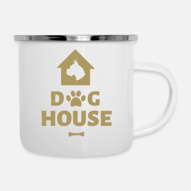 House Dog House - Emaille mok