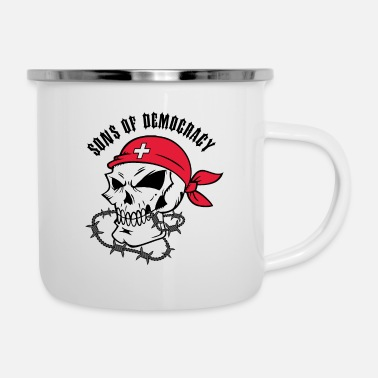 Democracy Sons of Democracy - Enamel Mug
