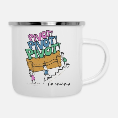 FRIENDS - PIVOT - Enamel Mug