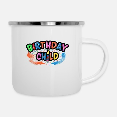 Birthday Party Birthday Kid Birthday Party Birthday Party - Enamel Mug