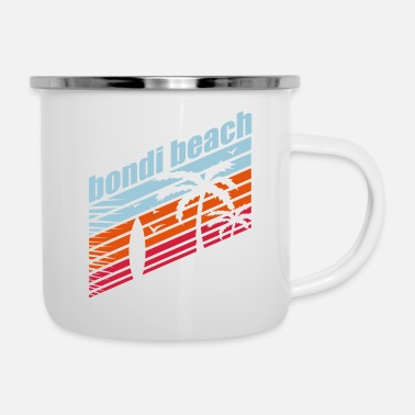 Surf Music BONDI BEACH - Enamel Mug